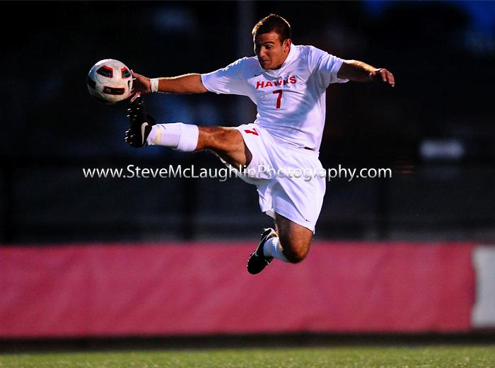 Uhart vs. CCSU Men's Soccer action on Saturday 9/11/2010.