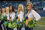 Seattle Seahawks  Seagals perform during the game with theTampa Bay Buccaneers at CenturyLink Field in Seattle, Washington on  November 3, 2013.  The Seahawks beat the Buccaneers 27-24 in overtime. ©2013. Jim Bryant. All Rights Reserved.