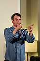 Harrogate, UK. 23.07.2012. Sitting Room comedy hosts two Edinburgh previews for Pat Cahill and Patrick Monahan, at the St George Hotel. The evening was in aid of the charity Mind. Picture shows: Pat Cahill. Photo credit: Jane Hobson.