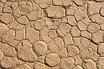 Dry mud texture at Dead Vlei in the Namib Desert, Namib-Naukluft Park, central Namibia.