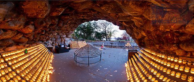 Grotto panoramic, fall 2012..Photo by Matt Cashore/University of Notre Dame