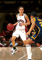 STANFORD, CA - JANUARY 21: Milena Flores of the Stanford Cardinal during Stanford's 78-62 win over the California Golden Bears on January 21, 2000 at Maples Pavilion in Stanford, California.