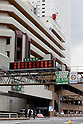 March 11, 2011, Tokyo, Japan - Electric board signs tells drivers closing of the Metropolitan Expressway due to an earthquake in Tokyo's Ikebukuro area on Friday, March 11, 2011. Hundreds of people are feared dead after the country's biggest earthquake with a magnitude of 8.9 since records began struck the northeastern coasts, unleashing a 10-metre tsunami that swept away buildings, ships and vehicles. (Photo by AFLO) [3609] -mis-