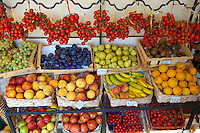 Fresh fruit stall, Positano Italy