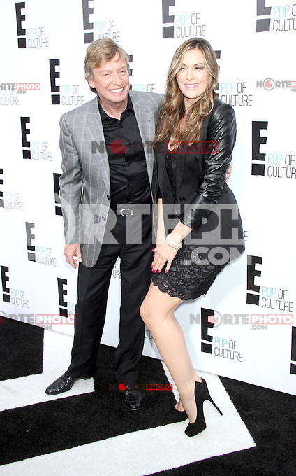 April 30, 2012 Nigel Lythgoe, Olivia Lee attends the E!'s  2012 Upfront at Gotham Hall in New York City.Credit:RWMediapunchinc.com