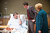 4000 Days<br /> by Peter Quilter<br /> directed by Matt Aston at Park Theatre, London, Great Britain <br /> 14th January 2016 <br /> <br /> Daniel Weyman as Paul <br /> <br /> Alistair McGowan as Michael <br /> <br /> Maggie Ollerenshaw as Carol <br /> <br /> Photograph by Elliott Franks <br /> Image licensed to Elliott Franks Photography Services