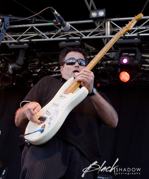 Died Pretty performing at the Big Day Out festival, Flemington Racecourse, Melbourne, 26 January 2009