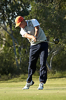 SAN ANTONIO, TX - OCTOBER 18, 2011: The University of Texas at San Antonio Roadrunners host the Lone Star Invitational Golf Tournament at the Briggs Ranch Golf Club. (Photo by Jeff Huehn)