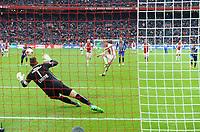 VOETBAL: AMSTERDAM: 16-04-2017, AJAX - SC Heerenveen, uitslag 5 - 1, Kasper Dolberg benut de strafschop en maakt de 4-1, ©foto Martin de Jong