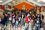 The big crowd at the Gaelscoil Mhic Easmainn Christmas Fair on Sunday