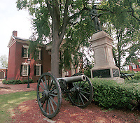 Court Square-Downtown Charlottesville..history canon