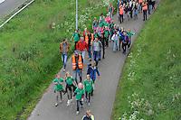 WANDELEN: JOURE: 25-05-2016, Avondvierdaagse, ©foto Martin de Jong