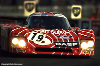 LE MANS, FRANCE: The Sauber SHS C6/Ford Cosworth driven by Walter Brun and Siegfried Müller Jr. completed just 55 laps and was classified 42nd at the finish of the 24 Hours of Le Mans on June 20, 1982, at Circuit de la Sarthe in Le Mans, France.