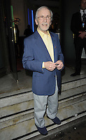 Andrew Sachs.The Prince Albert II of Monaco Olympians Reception, Old Burberry Building, Haymarket, London, England..August 9th, 2012.full length blue grey gray yellow shirt trousers suit jacket.CAP/CAN.©Can Nguyen/Capital Pictures.
