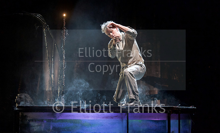 The Toad Knew <br /> James Thierree / Compagnie du Hanneton <br /> at Sadler's Wells, London, Great Britain <br /> Press photocall <br /> 3rd may 2017 <br /> <br /> James Thierree<br /> <br /> <br /> <br /> Photograph by Elliott Franks <br /> Image licensed to Elliott Franks Photography Services