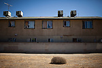 An apartment building in Mendota, Calif., September 10, 2012.