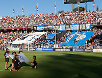 Stanford, California - Saturday June 30, 2012: San Jose Earthquakes defeated Los Angeles Galaxy,  4 to 3 at Stanford Stadium, Stanford, Ca.
