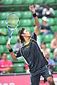 Yuichi Sugita (JPN), OCTOBER 4, 2011 - Tennis : Men's Doubles at Rakuten Japan Open Tennis Championships in Tokyo, Japan. (Photo by Atsushi Tomura/AFLO SPORT) [1035]
