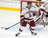 Clay Anderson (Harvard - 5) - The Harvard University Crimson defeated the US National Team Development Program's Under-18 team 5-2 on Saturday, October 8, 2016, at the Bright-Landry Hockey Center in Boston, Massachusetts.
