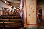 Interior, Mission San Juan Baptista, Calif.