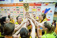 20150420: SLO, Basketball - 1. SKL za zenske, finale, ZKK Athlete Celje vs ZKK Triglav