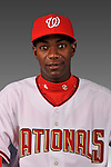14 March 2008: ..Portrait of Jose Pinales, Washington Nationals Minor League player at Spring Training Camp 2008..Mandatory Photo Credit: Ed Wolfstein Photo