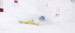 Challenge Mer et Montagne 2012, Saint Gervais les Bains, Mont Blanc, Haute Savoie, France..Ski Super Geant..Tanguy De Lamotte