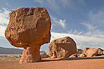 Glen Canyon National Recreation Area, AZ / APR.Numerous balanced rocks reside in the Glen Canyon National Recreation Area near Lees Ferry and Marble Canyon