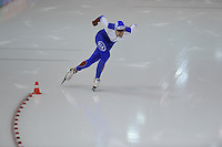 SCHAATSEN: HEERENVEEN: IJsstadion Thialf, 07-02-15, World Cup, 1000m Men Division A, Kirill Golubev (RUS), ©foto Martin de Jong