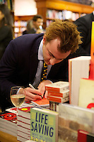 Francis Boulle signing his book Boulle's Jewels
