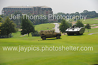 Celtic Manor Resort, Newport, South Wales<br /> <br /> Military vehicles at the Nato Summit<br /> <br /> Photographer: Jeff Thomas - Jeff Thomas Photography - 07837 386244/07837 216676 - www.jaypics.photoshelter.com - swansea1001@hotmail.co.uk