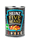 Tin of Heinz Five Beanz - Jan 2013.