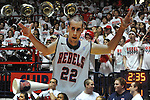 "A cutout of Ole Miss' Marshall Henderson (22) at the Ole Miss vs. Kentucky at the C.M. ""Tad"" Smith Coliseum on Tuesday, January 29, 2013."