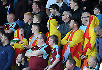 Burnley fans during the game <br /> <br /> Photographer Ian Cook/CameraSport<br /> <br /> The Premier League - Bournemouth v Burnley - Saturday 13th May 2017 - Vitality Stadium - Bournemouth<br /> <br /> World Copyright &copy; 2017 CameraSport. All rights reserved. 43 Linden Ave. Countesthorpe. Leicester. England. LE8 5PG - Tel: +44 (0) 116 277 4147 - admin@camerasport.com - www.camerasport.com