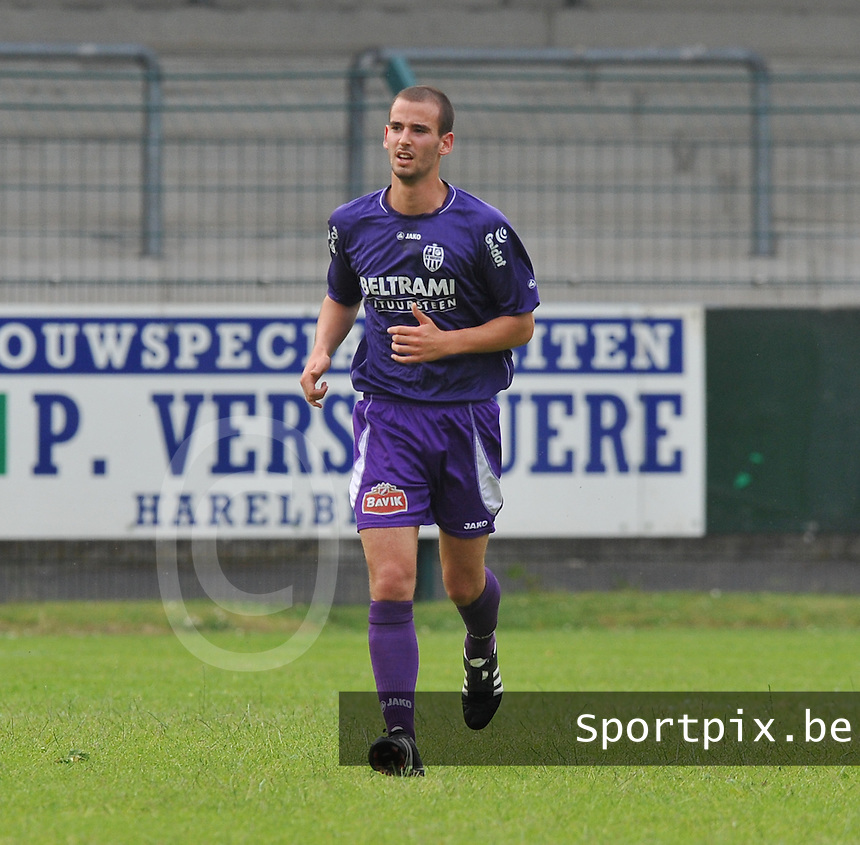 Sporting West Harelbeke : Ben Mestdag.foto VDB / BART VANDENBROUCKE