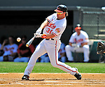 13 March 2009: Baltimore Orioles' outfielder Luke Scott in action during a Spring Training game against the St. Louis Cardinals at Fort Lauderdale Stadium in Fort Lauderdale, Florida. The Cardinals defeated the Orioles 6-5 in the Grapefruit League matchup. Mandatory Photo Credit: Ed Wolfstein Photo