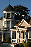 Historic homes on Depot Hill in Capitola