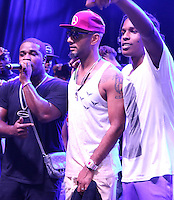 BRONX, NY - AUGUST 11, 2016 ASAP Ferg, Swizz Beatz & ASAP Rocky perform at the Barcardi x Dean Collection, No Commission Art Performs event, August 11, 2016 Bronx, New York. Photo Credit: Walik Goshorn / Mediapunch