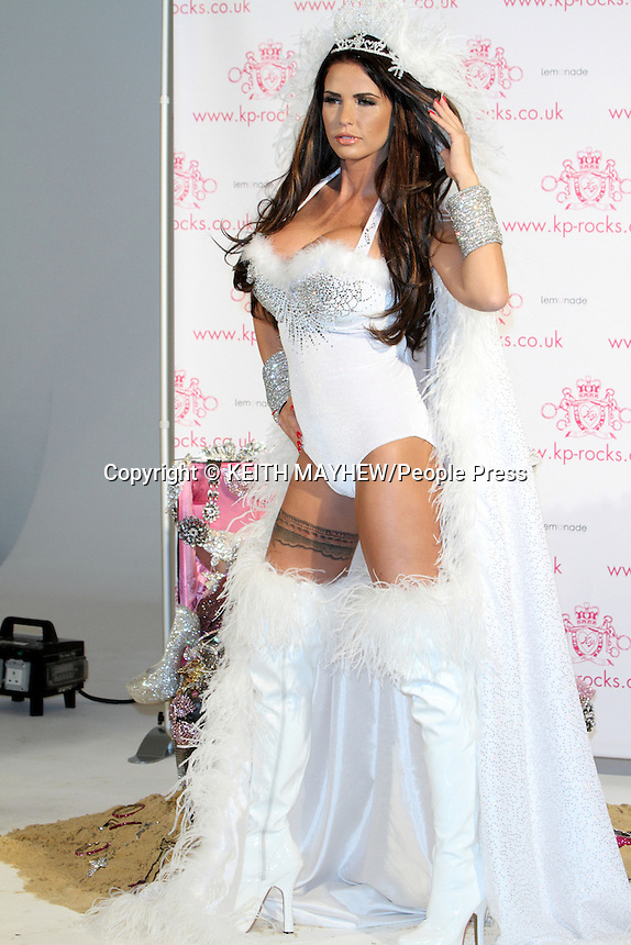 London - Katie Price launches her KP Rocks Jewellery range at the Worx Studios, London - November 7th 2012..Photo by Keith Mayhew
