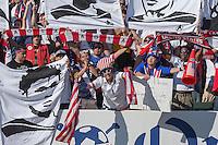 Carson, Calif. - Sunday, February 8, 2015: USA fans. The USMNT defeated Panama 2-0 in an international friendly at StubHub Center.