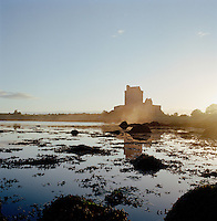 Dunguaire Castle in Galway Bay, County Galway, Ireland