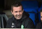 St Johnstone v Celtic...15.05.15   SPFL<br /> A smile from Celtic boss Ronnie Deila<br /> Picture by Graeme Hart.<br /> Copyright Perthshire Picture Agency<br /> Tel: 01738 623350  Mobile: 07990 594431
