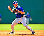 4 March 2009: New York Mets' infielder Reese Havens takes fielding practice prior to a Spring Training game against the Washington Nationals at Space Coast Stadium in Viera, Florida. The Nationals rallied to defeat the Mets 6-4 . Mandatory Photo Credit: Ed Wolfstein Photo
