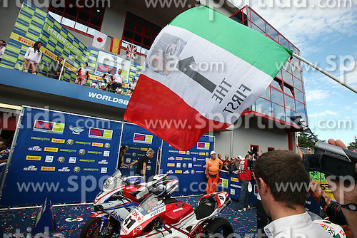 26.09.2010, Circuit Enzo & Dino Ferrari, Imola, ITA, Superbike WM, Imola, im Bild Max Biaggi - Aprilia Alitalia racing, EXPA Pictures © 2010, PhotoCredit: EXPA/ InsideFoto/ *** ATTENTION *** FOR AUSTRIA AND SLOVENIA USE ONLY!