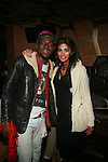 Recording Artist Theophilus London and Designer Rachel Roy Attend Rachel Roy's After Party with Theophilus London Held at DARBY DOWNSTAIRS, NY   2/13/12