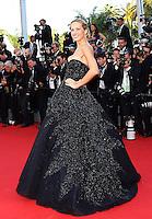 Petra Nemcova attends 'Deux jours, une nuit' 1ere - 67th Cannes Film Festival - France