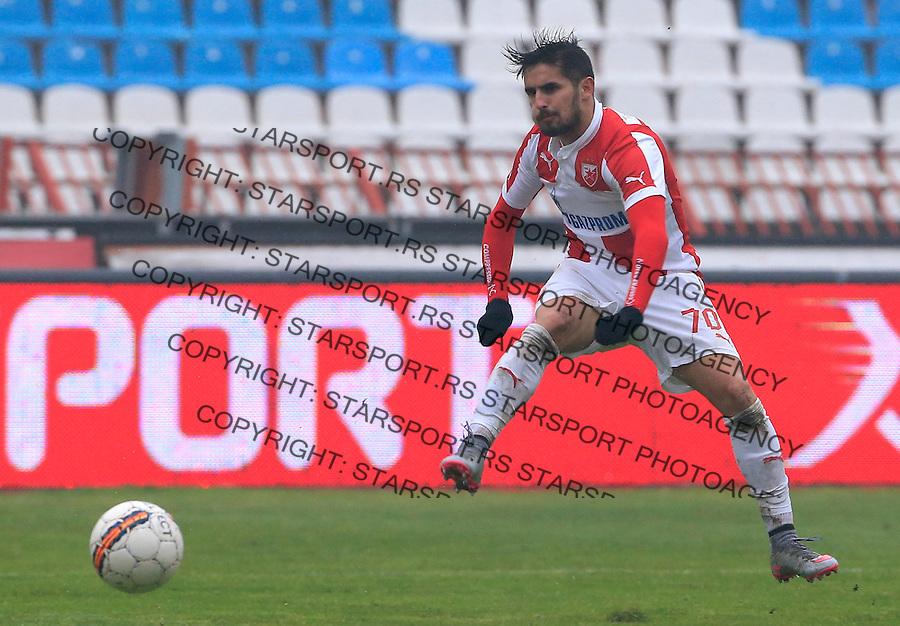 Fudbal Jelen Super League season 2015-2016<br /> Crvena Zvezda v Vozdovac<br /> Hugo Oliveira Vieira <br /> Beograd, 28.11.2015.<br /> foto: Srdjan Stevanovic/Starsportphoto&copy;
