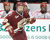 Tommy Atkinson (BC - 28) - The visiting Boston College Eagles defeated the Boston University Terriers 3-2 to sweep their Hockey East series on Friday, January 21, 2011, at Agganis Arena in Boston, Massachusetts.