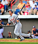 15 March 2009: Detroit Tigers' outfielder Ryan Raburn in action during a Spring Training game against the Washington Nationals at Space Coast Stadium in Viera, Florida. The Tigers shut out the Nationals 3-0 in the Grapefruit League matchup. Mandatory Photo Credit: Ed Wolfstein Photo