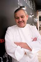 Zortziko, Chef Daniel Garcia's 1 Michellin star restaurant. Bilbao travel assignment National Geographic Traveler en Español. Bilbao, Spain, January 2009
